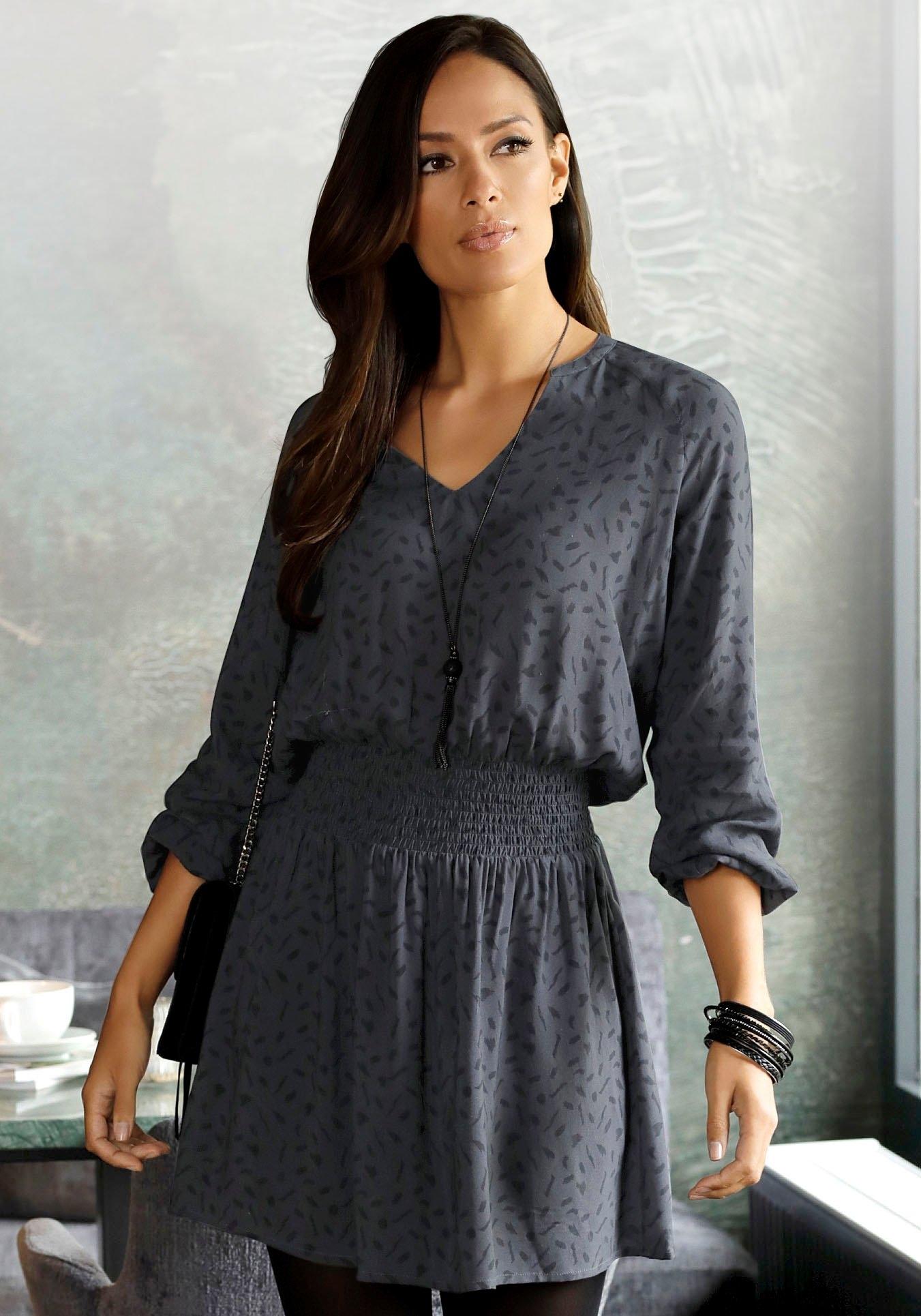 Op zoek naar een Lascana gedessineerde jurk? Koop online bij OTTO
