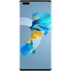 huawei smartphone mate 40 pro, 256 gb, 24 maanden fabrieksgarantie zilver