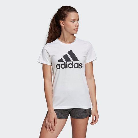 adidas performance sport T-shirt wit