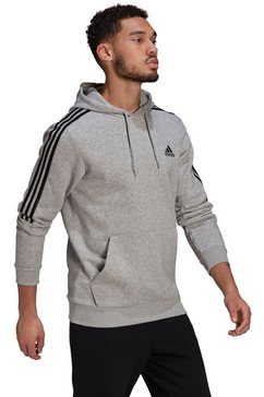 adidas performance hoodie »m cut 3s hd« grijs