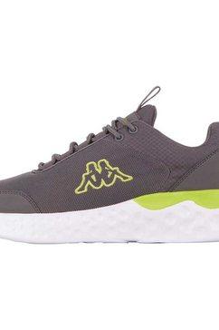 kappa sneakers pendo met lichte zool in chunky stijl grijs