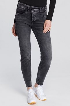herrlicher slim fit jeans »maeze slim« grijs
