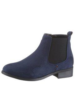 city walk chelsea-boots blauw