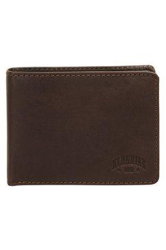 klondike 1896 portemonnee digger tweevoudig inklapbaar (1-delig) bruin