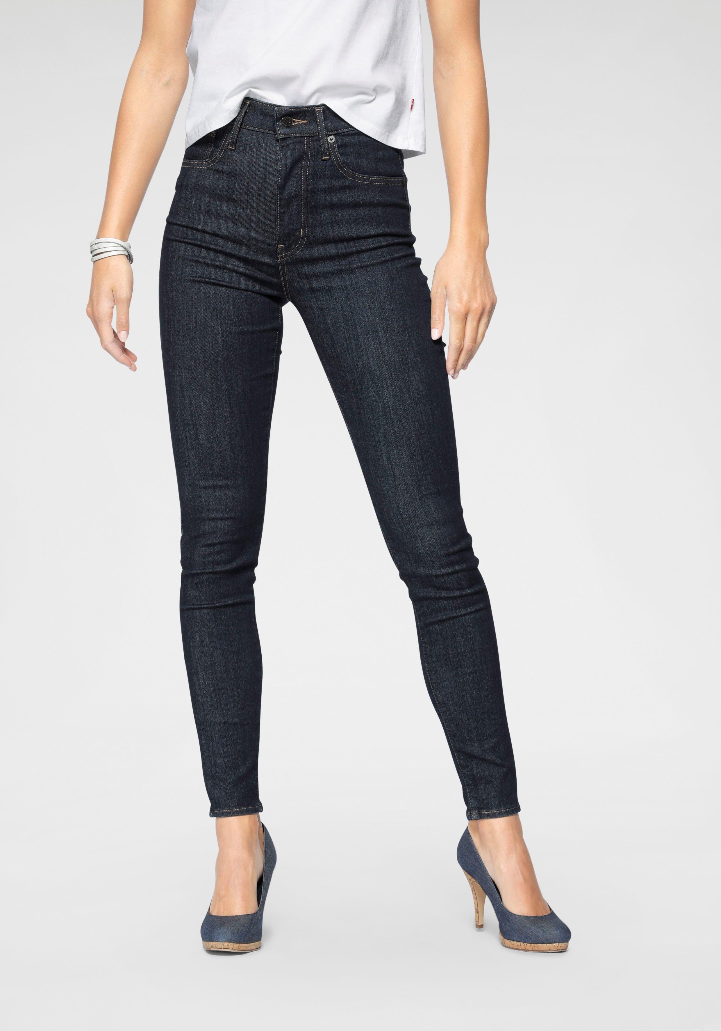 Levi's skinny fit jeans »Mile High Super Skinny« goedkoop op otto.nl kopen