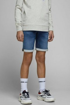 jack  jones junior jeansbermuda jjirick jjicon shorts ge blauw