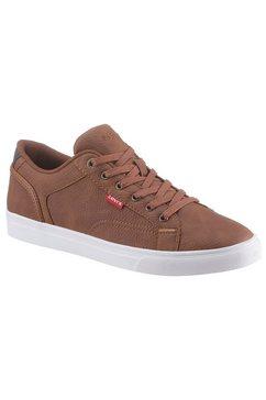 levi's sneakers courtright in een eenvoudige look bruin