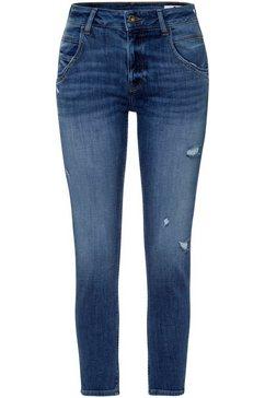 cross jeans high-waist jeans »tanya« blauw