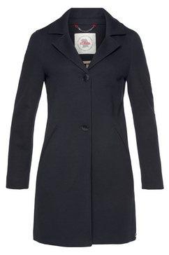 s.oliver korte jas in modieus, lang blazermodel blauw