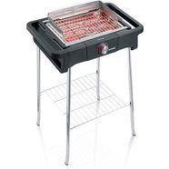 severin staande barbecue pg 8124 style evo s zwart