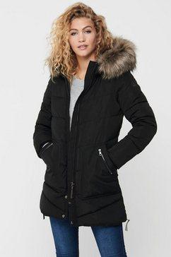only doorgestikte jas »onlroona« zwart
