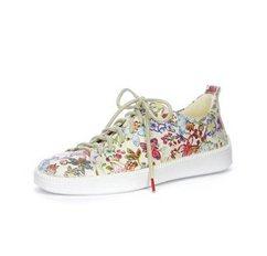 think! sneakers turna met mooie bloemenprint wit