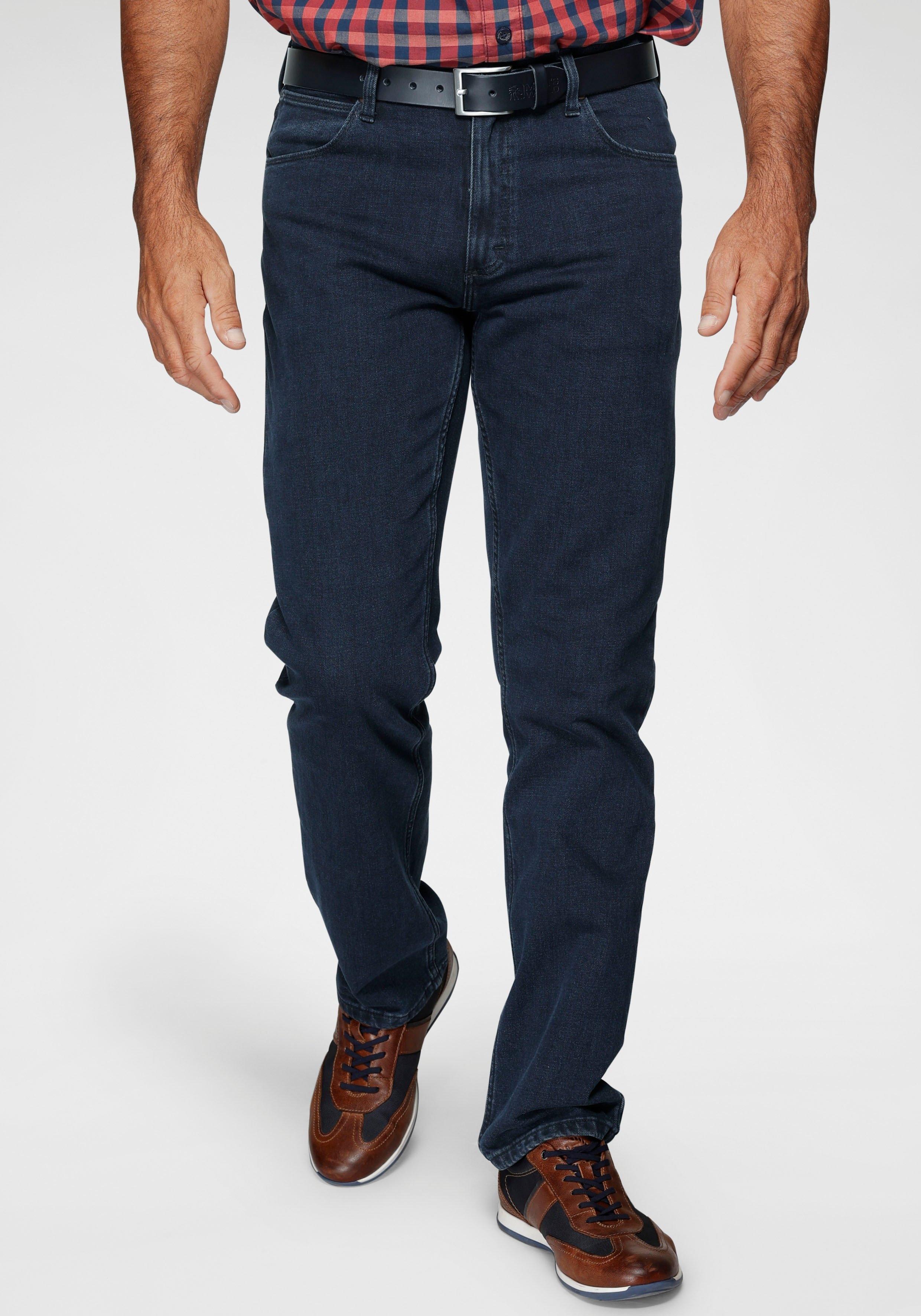 Wrangler straight jeans Authentic Straight voordelig en veilig online kopen