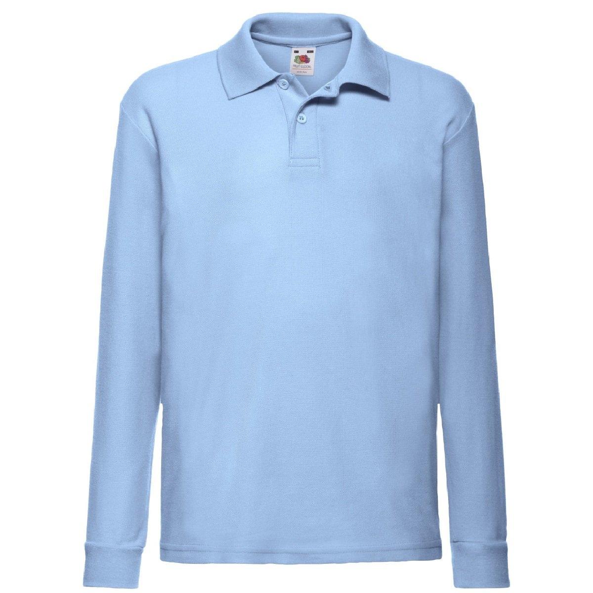 Fruit of the Loom poloshirt »Kinder Polo Shirt, Langarm« voordelig en veilig online kopen