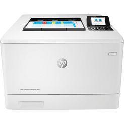 hp laserprinter color laserjet enterprise m455dn wit