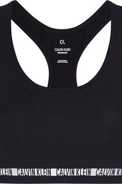 calvin klein performance sportbustier »wo - cotton elastane bra« zwart
