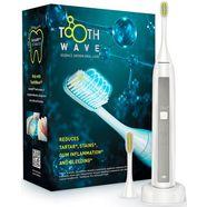 silk'n ultrasone tandenborstel toothwave, opzetborstels: 2 wit