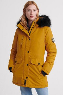 superdry parka »ashley everest parka-w5« geel
