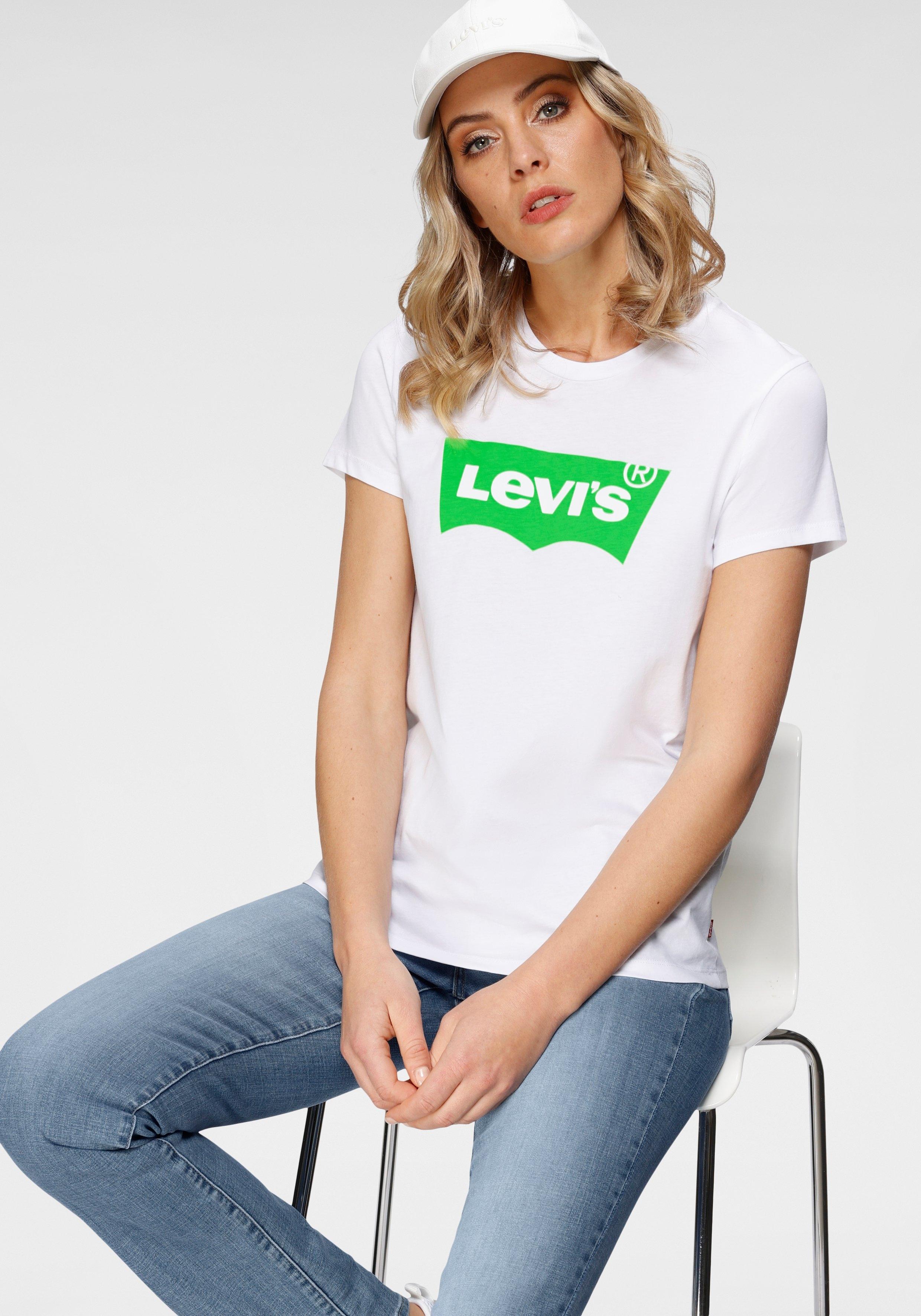Levi's T-shirt The Perfect Tee met logoprint bij OTTO online kopen