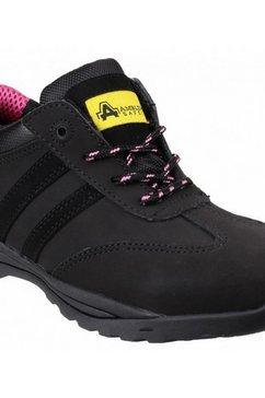 amblers safety werkschoenen safety dames leren veiligheidsschoenen fs706 sophie zwart