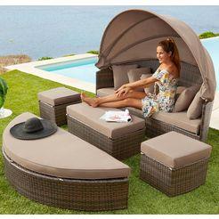 merxx loungebank multifunctioneel bed riva bruin