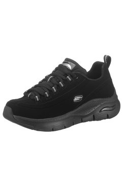 skechers sneakers arch fit - metro skyline met archfit zwart