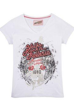 andreas gabalier kollektion folkloreshirt dames met glinstersteentjes wit
