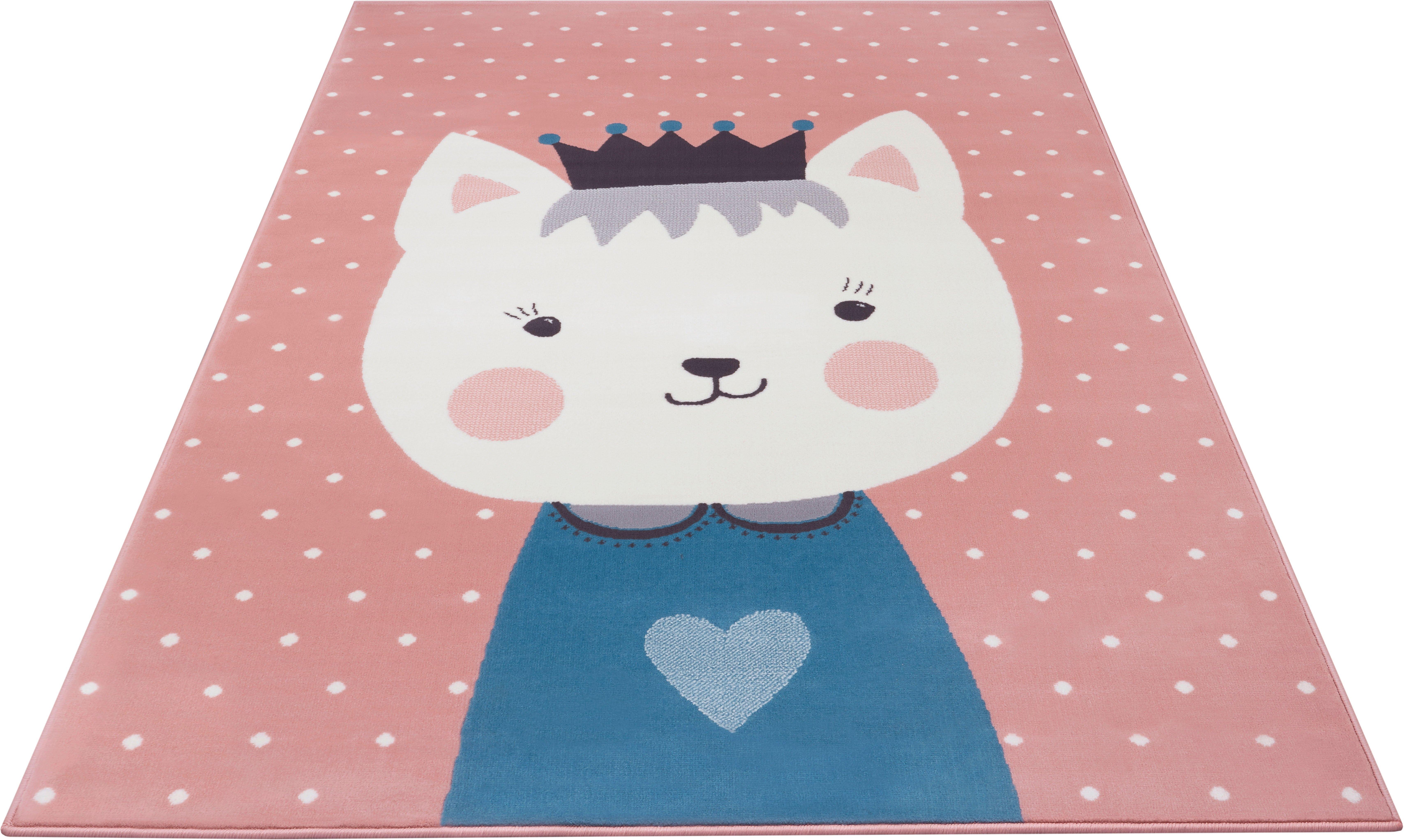 HANSE Home vloerkleed voor de kinderkamer »Kitty Bonny« nu online kopen bij OTTO
