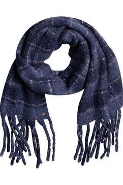 roxy fleece-sjaal never know this blauw
