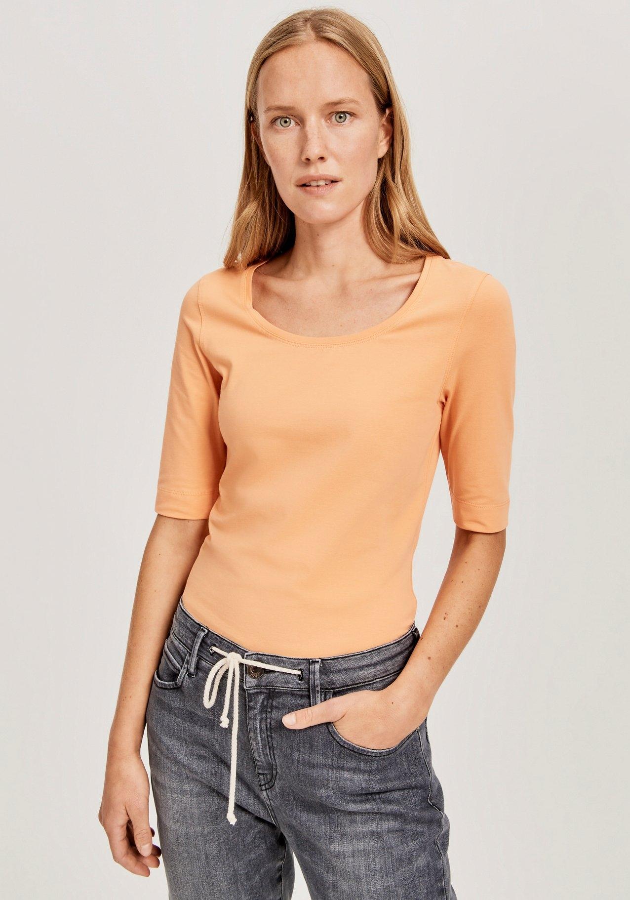 OPUS shirt met lange mouwen Sanika in basic look voordelig en veilig online kopen
