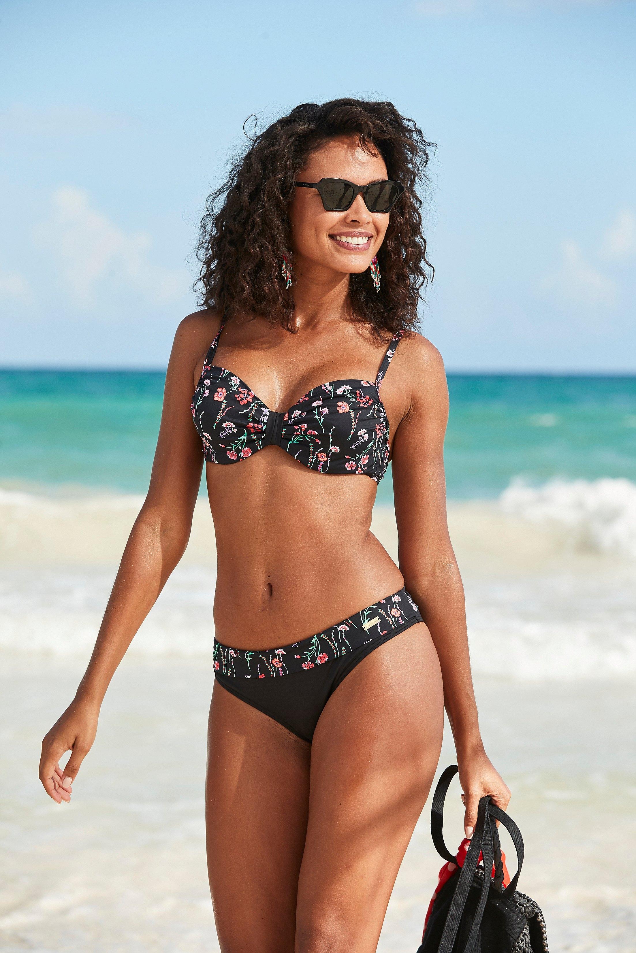Lascana Bikinibroekje Bloom in zomerse look voordelig en veilig online kopen