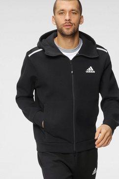 adidas performance capuchonsweatvest adidas sportswear z.n.e. pant zwart