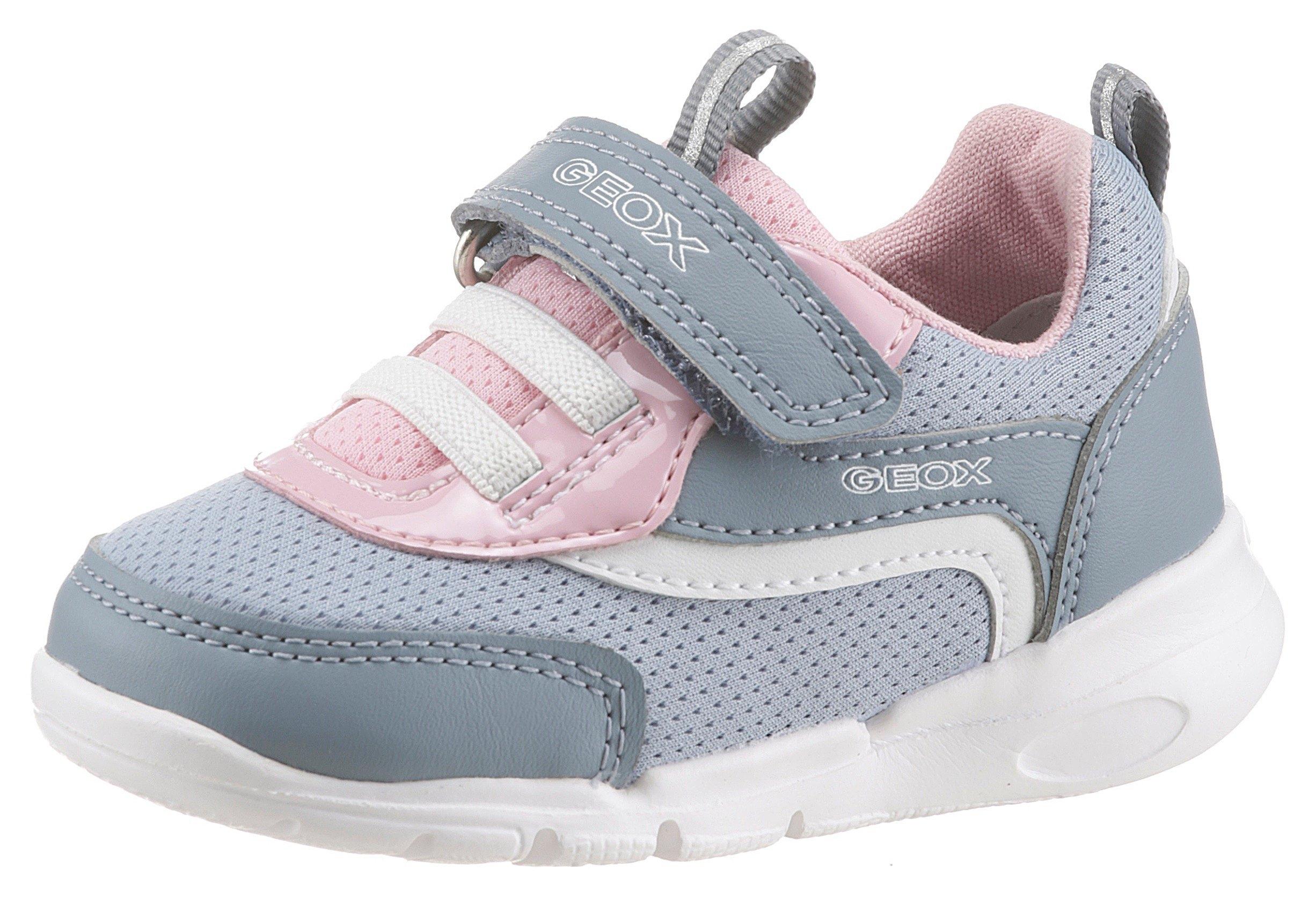 Geox Kids sneakers B Runner Girl met klittenbandsluiting nu online bestellen