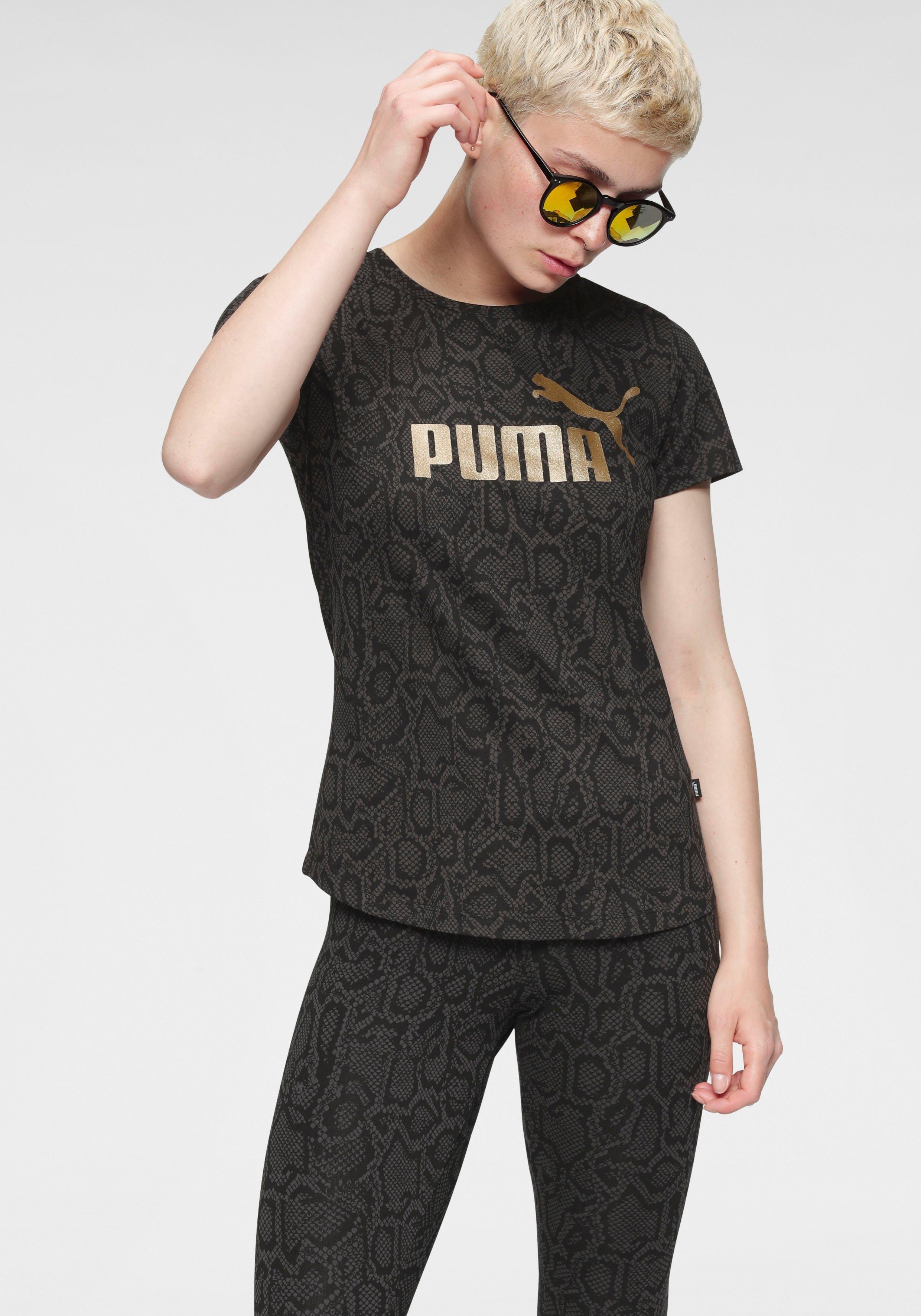 PUMA T-shirt »ESS + AOP Tee« bestellen: 30 dagen bedenktijd