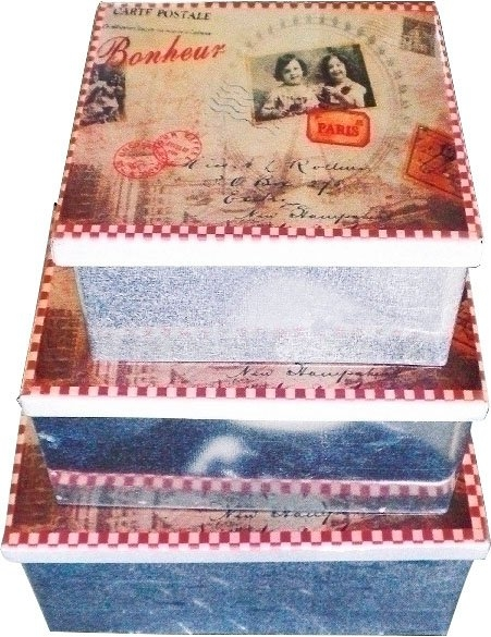 Myflair Möbel & Accessoires sierkist Lola Romantiek (set, 3 stuks) - verschillende betaalmethodes