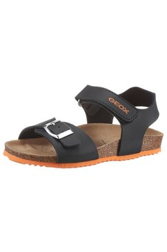 geox kids sandalen ghita boy met zacht voetbed blauw