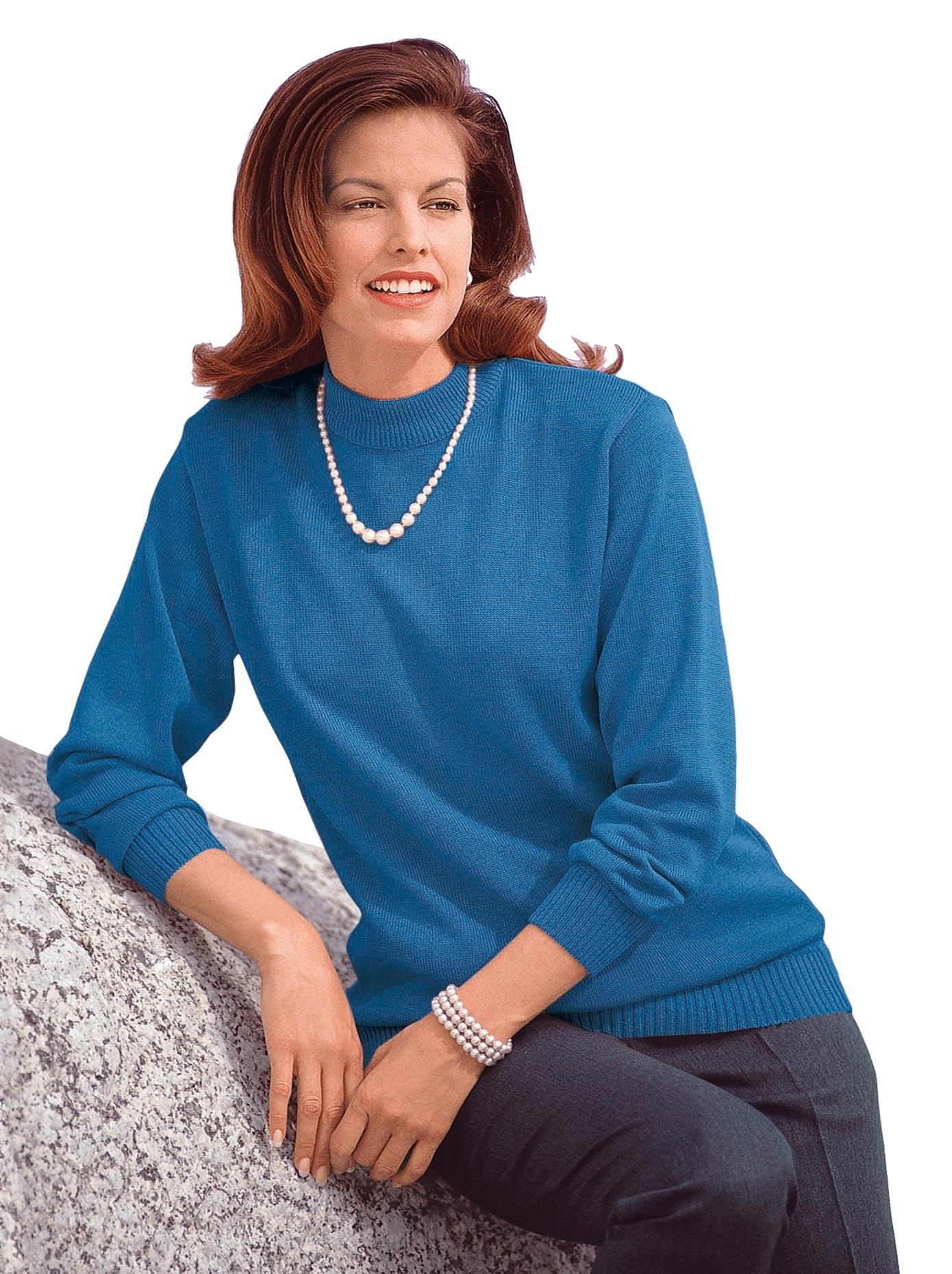 Classic trui met staande kraag Trui - verschillende betaalmethodes