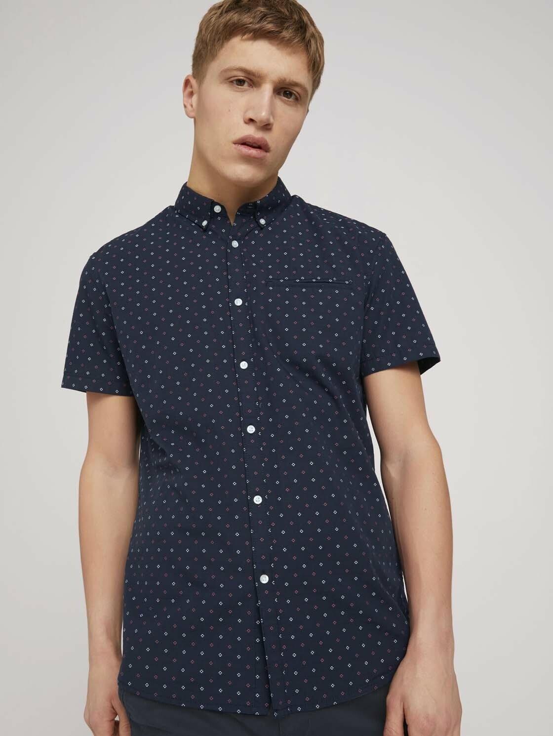 Tom Tailor Denim overhemd met korte mouwen »kurzärmliges Hemd« nu online bestellen