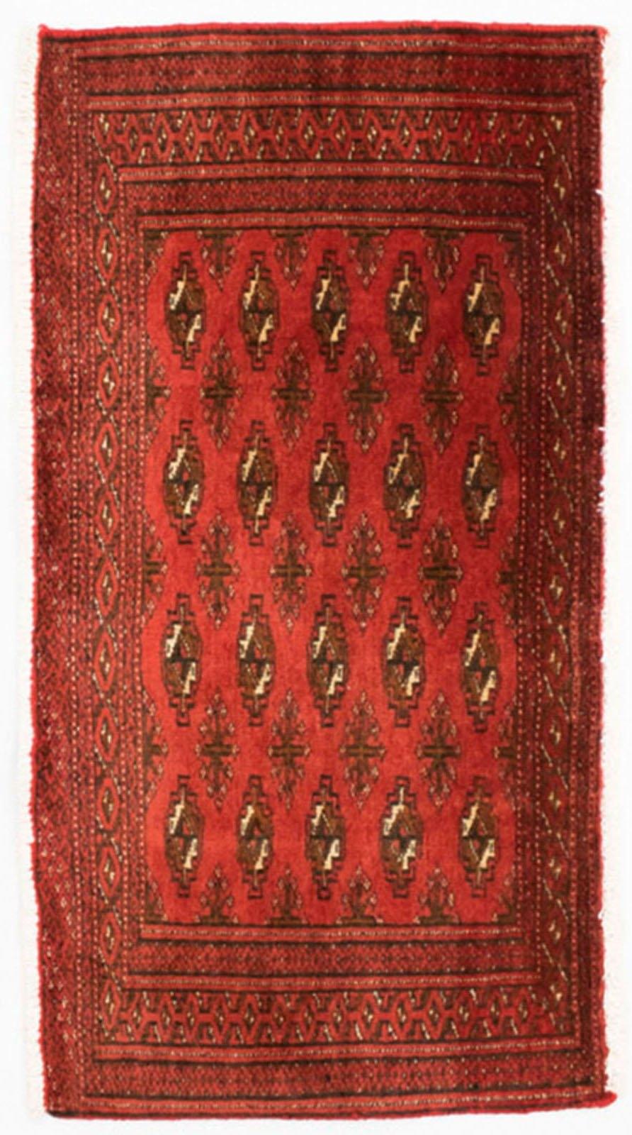 morgenland wollen kleed Turkaman vloerkleed met de hand geknoopt rood - gratis ruilen op otto.nl
