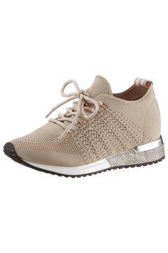 la strada sneakers met sleehak »fashion sneaker« beige