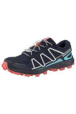 salomon runningschoenen »alkalin trail w« blauw