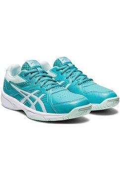 asics tennisschoenen court slide blauw
