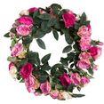 botanic-haus kunstkrans rosenkranz (1 stuk) roze