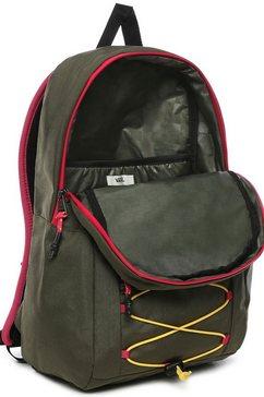 vans »66 supply backpack« rugzak bruin