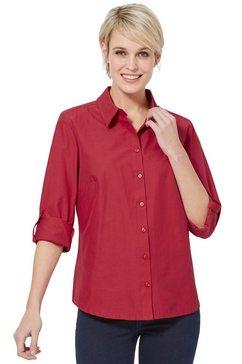casual looks overhemdblouse rood