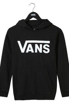 vans hoodie »vans classic po hoodie ft boys« zwart