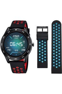 lotus smartime, 50013-4 smartwatch zwart