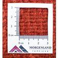 morgenland wollen kleed nepal teppich handgeknuepft rost handgeknoopt bruin