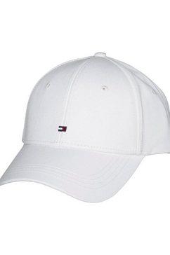 tommy hilfiger baseballcap »classic bb cap« wit