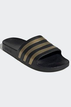 adidas performance badslippers »aqua adilette« zwart